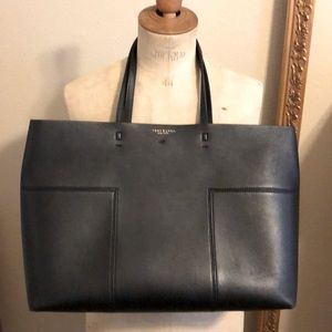 Tory Burch leather tote black bag